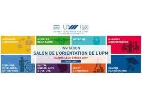 Salon de l'orientation de l'UPM à Agadir Samedi 2 février