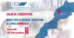 Salon de l'orientation de l'UPM - Samedi 28 Décembre 2019