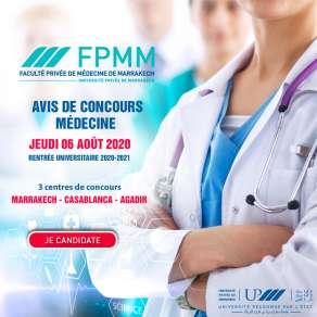Avis de concours Médecine