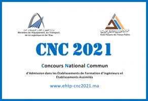 Ouverture des inscriptions au Concours National Commun CNC 2021
