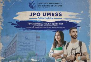 Journée Portes Ouvertes « Édition Hybride » à l'Université Mohammed VI des Sciences de la Santé (UM6SS)