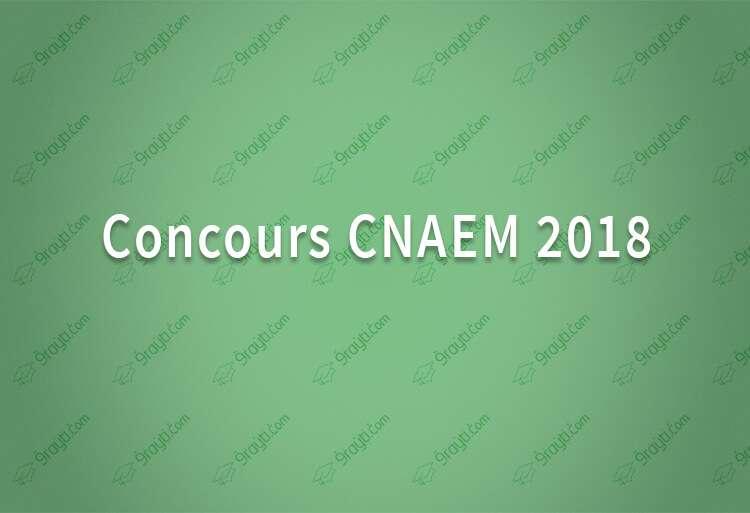 ddf0e178b6b4ba Concours National d Accès aux Ecoles de Management CNAEM 2018 ...