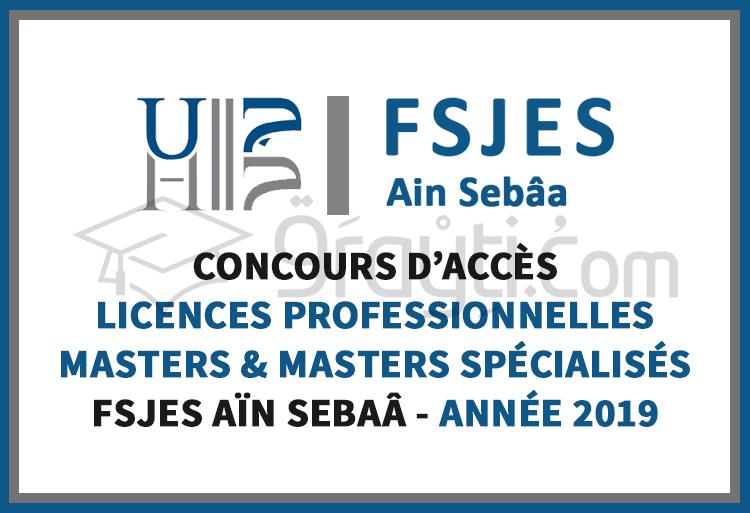 Concours D'accès Aux Licences Professionnelles, Masters Et